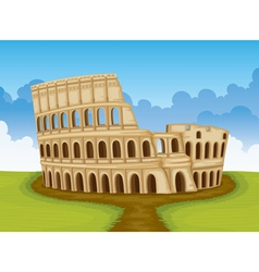Colosseum italy vector