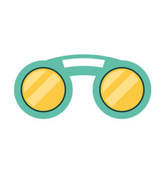 fashion sunglasses isolated vector image