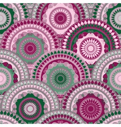 Vivid seamless pattern vector