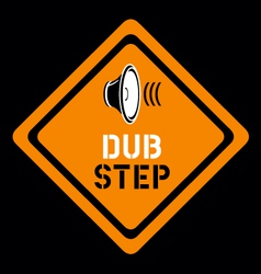 Dubstep sign vector