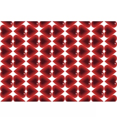 Abstract pattern love vector image vector image
