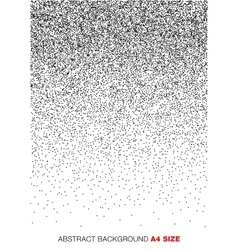 Gradient Halftone Dots Background a4 format vector image vector image
