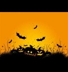 halloween grunge background vector image vector image