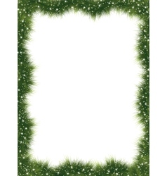 New year frame with copy space EPS 8 vector image vector image