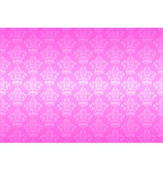 pink wallpaper vector image