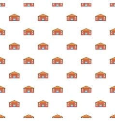 Education centre pattern cartoon style vector