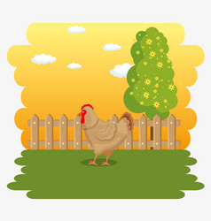 Farm animal icon vector