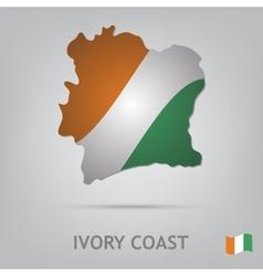 Ivory coast vector