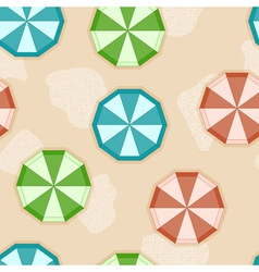 sun umbrellas vector image