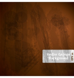 Grunge Dark Background vector image