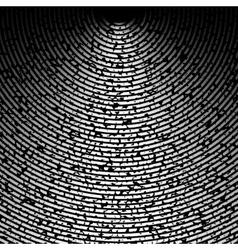 Grunge retro vintage wall radial texture vector image