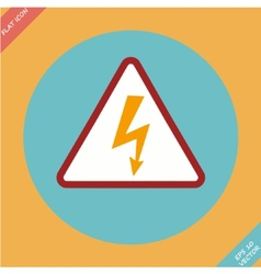 High Voltage Sign - vector image