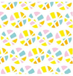 Pop art repeatable fabric sample vector