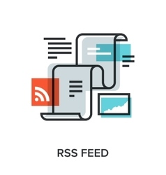 Rss feed vector