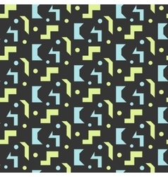 Abstract geometric shapes seamless pattern vector