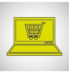 Technology e-commerce buy online vector