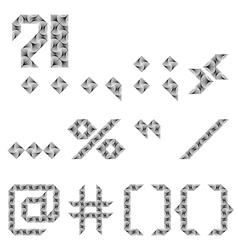 Design punctuation marks set vector
