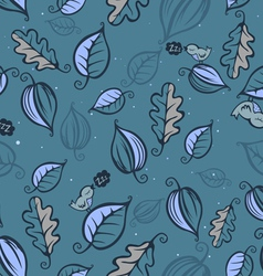 Night forest pattern vector image vector image