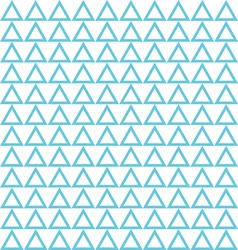 seamless blue triangle abstract pattern vector image vector image