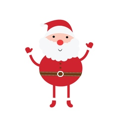Santa claus cartoon icon image vector