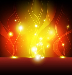 flame eruption background vector image