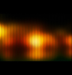 Black orange yellow abstract with light lines vector