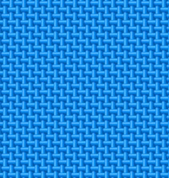 Blue cloth texture vector image vector image