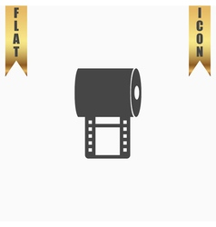 film strip vector image