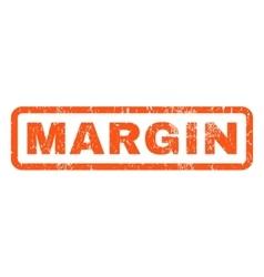 Margin rubber stamp vector