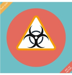 Warning symbol biohazard - vector