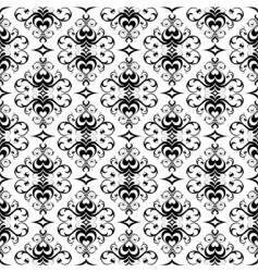 floral waqllpaper vector image