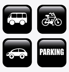 parking design vector image
