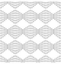 Rhombus chaotic seamless pattern 4310 vector image