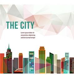 City - background vector