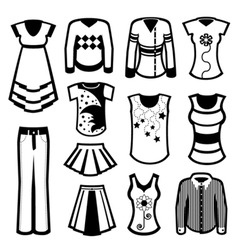 Clothes design vector