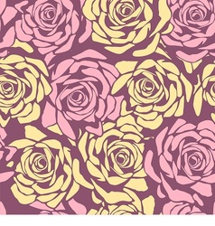 Seamless floral ornamental pattern vector