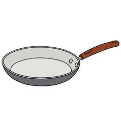 Ceramic pan vector