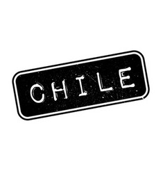 Chile rubber stamp vector