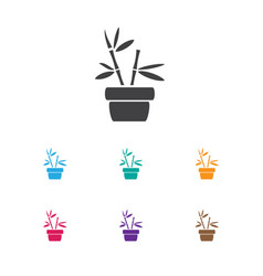of gardening symbol on plant vector image