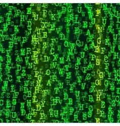Alphabet Background Design vector image
