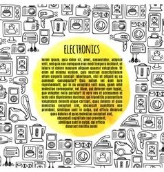 Banner electronics vector