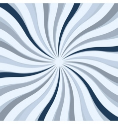 twisted star square background vector image