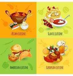 World food set vector