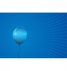 single balloon vector image