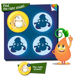 Find the right shade egg vector