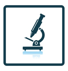 Icon of school microscope vector
