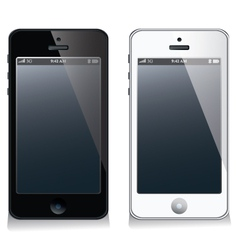 Mobile phone set vector image