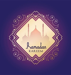 Ramadan kareem background 0606 vector