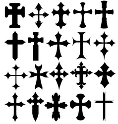 cross illustration vector image