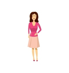 Mom icon in cartoon style vector image
